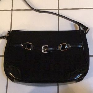 Black Etienne Shoulder Bag